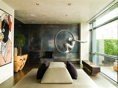 home sculptures eye for design decorate with industrial metal walls