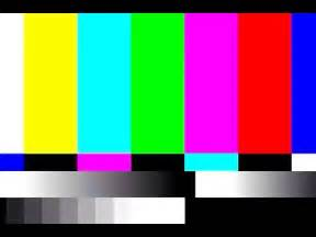 shades color bar tv static and color bar