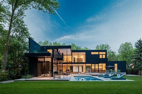 Home Design Toronto Modern Home In Oakville Ontario Modern Exterior