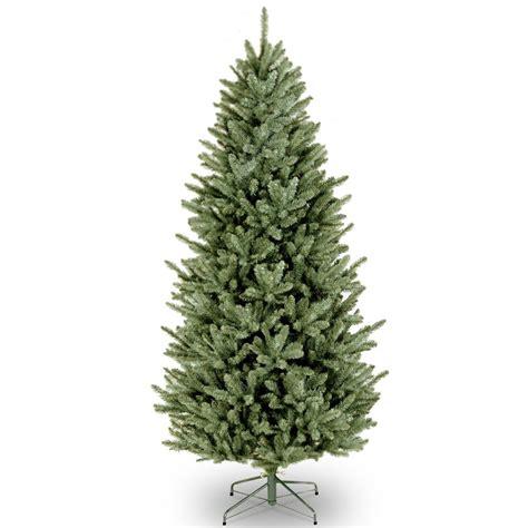home depot garden club fraser fir national tree company 6 5 ft fraser slim fir tree naffslh1 65 the home depot