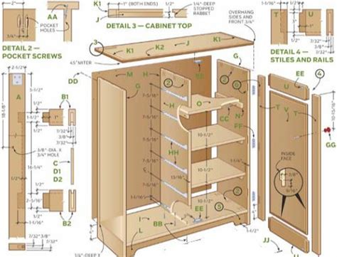 How To Build Cabinets For Kitchen Woodworking How To Build Kitchen Cabinets Plans Diy Pdf