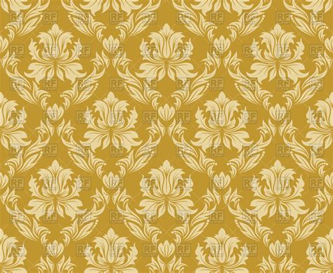gold wallpaper clipart damask seamless gold pattern royalty free vector clip art