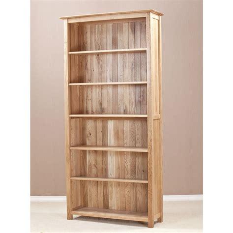 Dark Pine Bookcase Ashton Oak Tall Bookcase Quarter Solid Wood Furniture