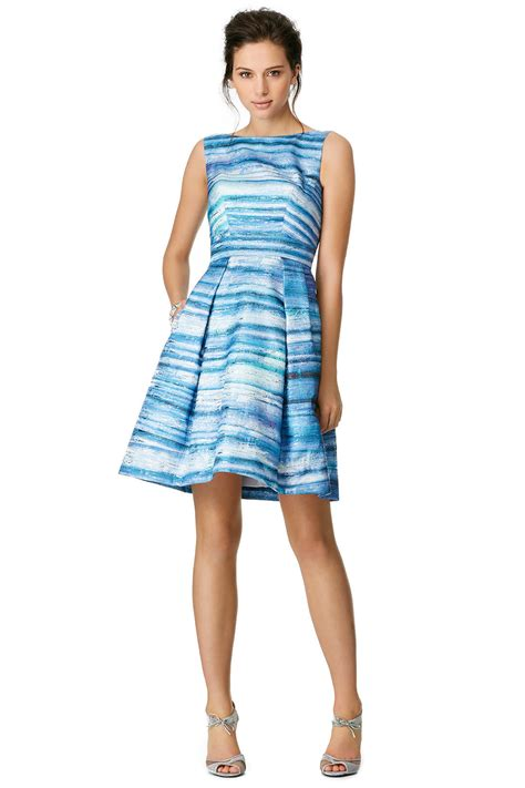 Blue Gradient Dress theia blue gradient dress from rent the runway miami weddings