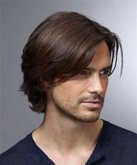 men medium haircut lengths pictures with back bald spot hairstyles for men medium long hair best 25 mens medium