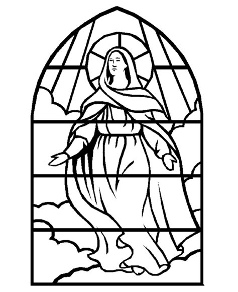 Stained Glass Coloring Page Az Coloring Pages Stained Glass Coloring Pages