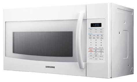 samsung smh1816w 30 quot the range microwave white