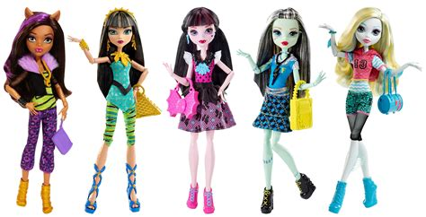imagenes nuevas monster high amazon com monster high best ghoulfriends doll collection
