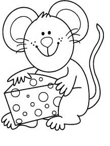 mouse coloring pages kids coloring