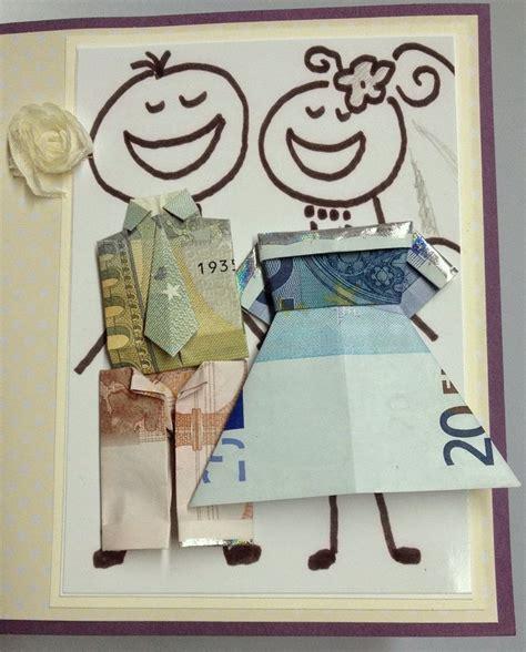 braut aus geldscheinen falten origami brautpaar falten my blog