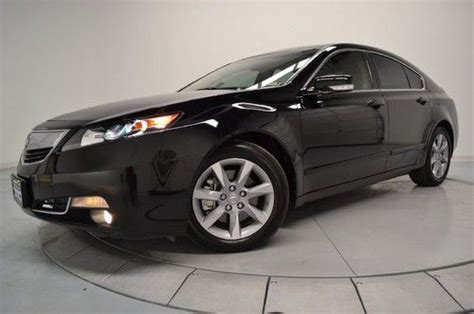 sell new 2009 acura tl leather seats navigation homelink