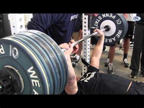 mark henry bench press max penn state bench press workout yourepeat