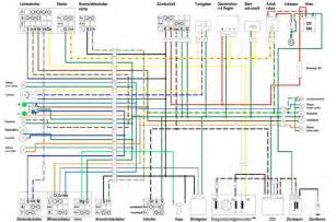 vespa scooter wiring diagram electrical schematic