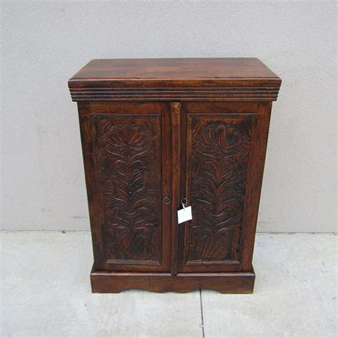 Carved Cabinet by Carved Cabinet Small Nadeau Charleston