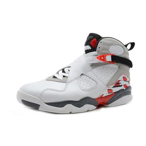 cheap jordans shoes for air 8 original high white black grey cheap
