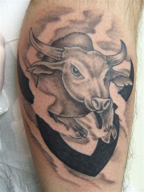taurus tattoos taurus bull picture