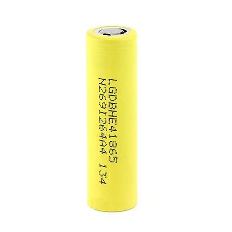 Battery Vapor Vape Vaporizer Lg He4 18650 Li Ion 2500mah 37v Flat Top lg he4 18650 2500 mah 3 7v 35a high drain battery lgdbhe41865