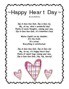 black valentines day poems here is one february poem song freebie that s part of my