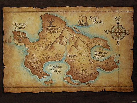 neverland map map of neverland once upon a time podcast forums