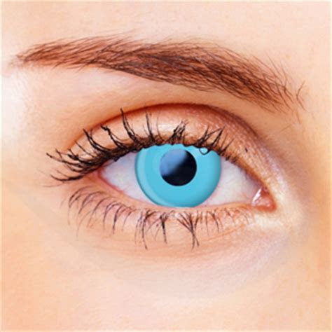 Light Blue Contacts by Blue Contact Lenses