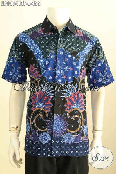 Kemeja Batik Pria Batik Tulis Lengan Pendek Warna Soft Baru Code B L kemeja batik tulis pria macam jenis motifnya toko batik 2018