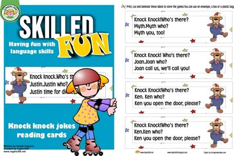 lots of knock knock jokes for simply centers april s fool day