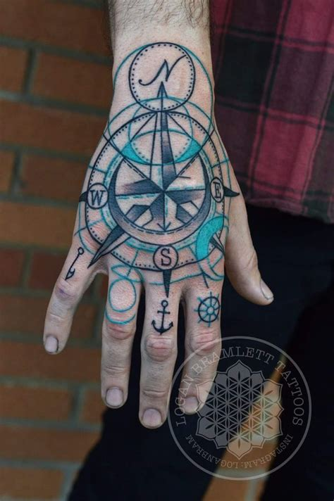 compass tattoo on hand meaning compass tattoo designs with meaning nautical compass