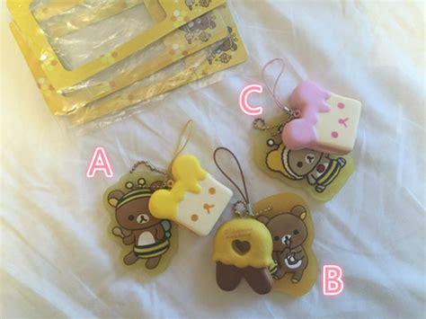 a b c squishy tag rilakkuma tag squishy honey 183 s kawaii store