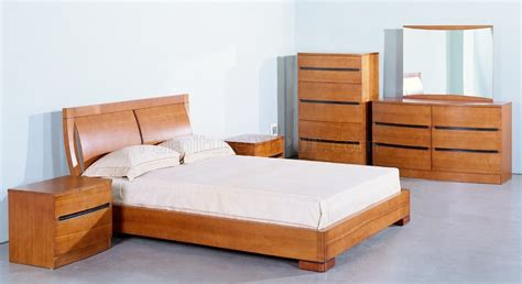 teak wood bedroom set teak semi gloss finish elegant bedroom w options