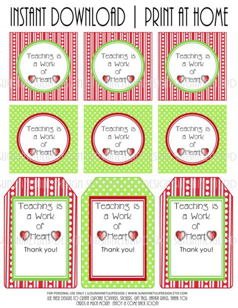 free printable gift tags for baked goods baked goods teacher appreciation diy by sunshinetulipdesign