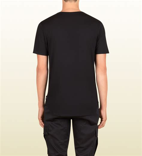 S T Shirt Collections 235g725 gucci s black light modal silk jersey t shirt from viaggio collection in black for lyst