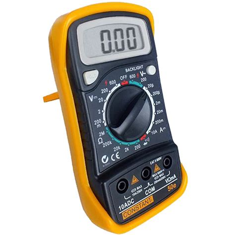 Multimeter Constant 50 jual multimeter digital constant 50e