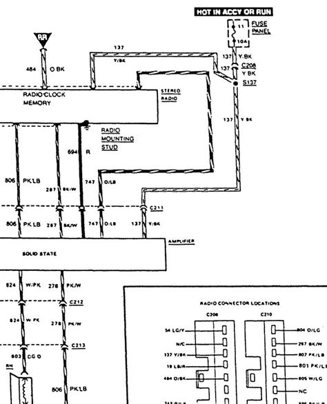 i need a radio wiring diagram for an 88 ford ranger xlt