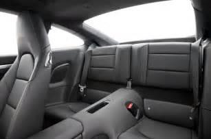 Porsche 911 Back Seat Porsche 911 2012 2015 Interior Autocar