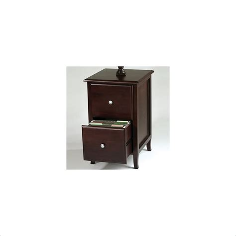 Office Star Merlot 2 Drawer Vertical Wood File Walnut Wood File Cabinet 2 Drawer Vertical