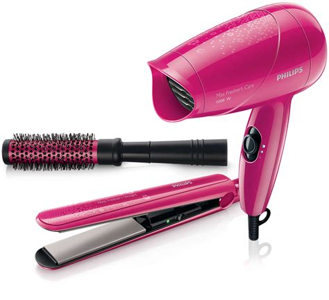 Hair Dryer And Straightener Kit dryer straightener hp8647 00 philips