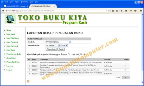 format buku penjualan bunafit komputer menjual source code program aplikasi