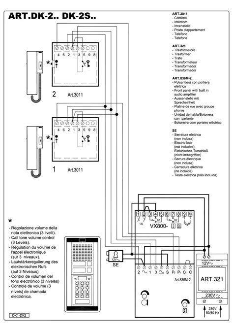 golmar intercom wiring diagram 30 wiring diagram images