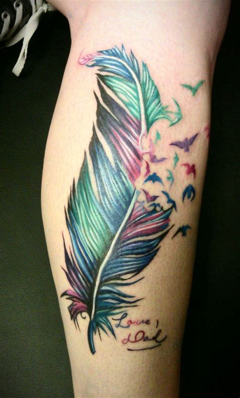 tattoo feather on leg pics for gt polynesian feather tattoo