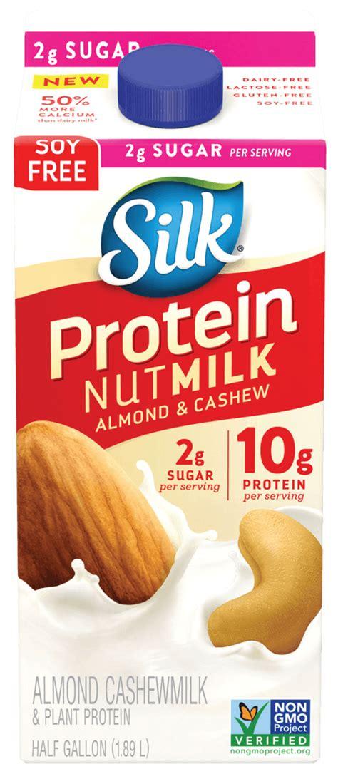 protein almond milk protein nutmilk silk