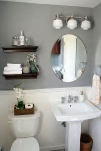 Downstairs Bathroom Decorating Ideas by It S Just Paper At Home Powder Room Renovation