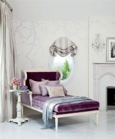 purple velvet chaise 10 chaise lounge design ideas for contemporary touch