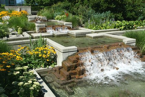 landscape water features go with the flow
