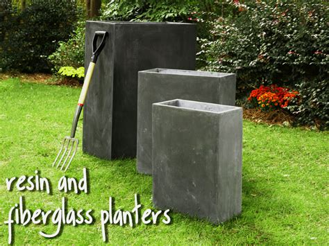 How To Make Fiberglass Planters by Fiberglass Planters Outdoor Resin Planters And Pots