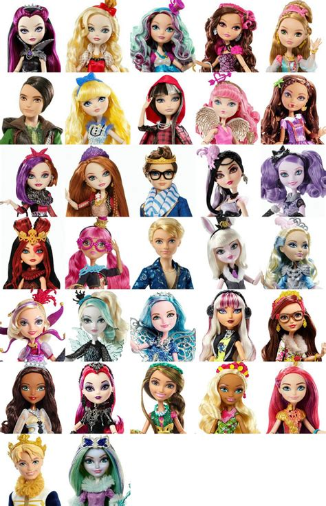 dollhouse characters after high list of all characters so far at least