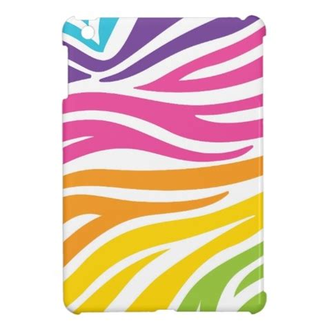 zebra pattern gifts colorful rainbow zebra print pattern gifts cover for the
