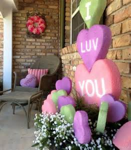 Valentines Day Decoration by 25 Creative Outdoor Valentine D 233 Cor Ideas Digsdigs