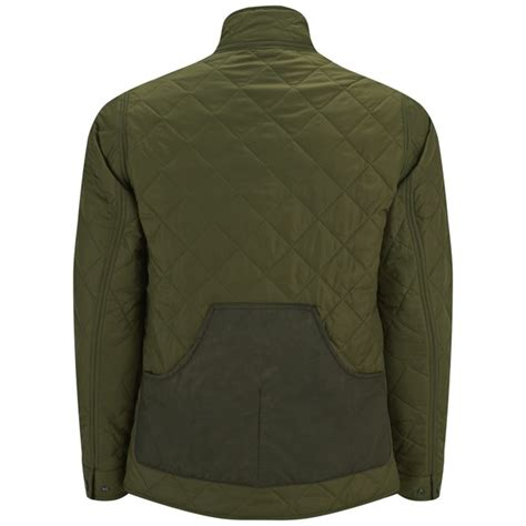 Green Quilted Jacket by Barbour S Bound Quilted Jacket In Green For Lyst