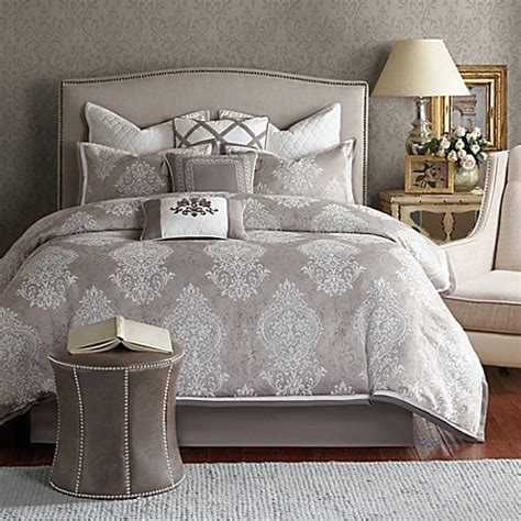 bombay bedding bombay cortina comforter set in ivory bed bath beyond