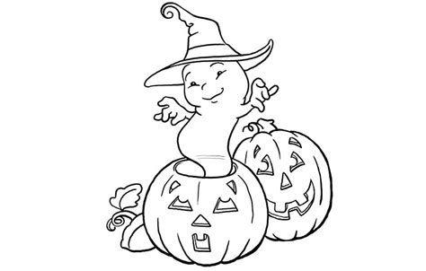 baby pumpkin coloring pages baby howleen free coloring pages